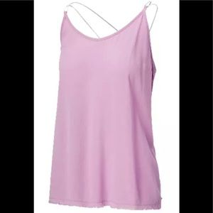 RIPZONE SAGE WOVEN TANK TOP-size S